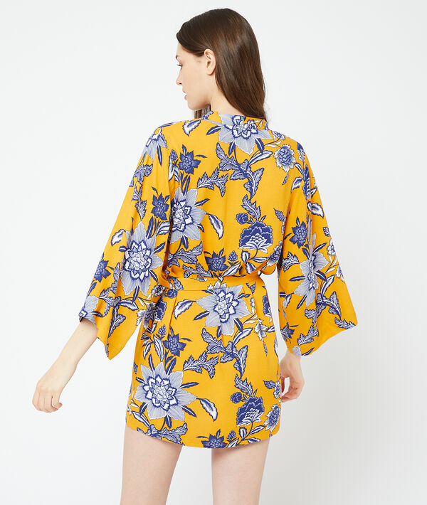 Kimono mit Print;${refinementColor}