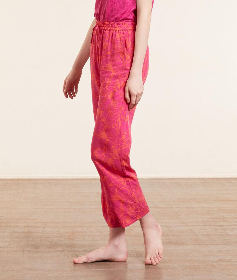 7/8-Pyjamahose mit Print;${refinementColor}