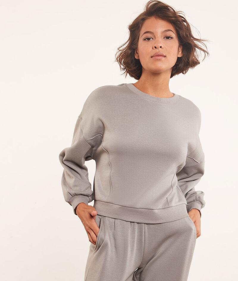Langärmeliges Sweatshirt;${refinementColor}