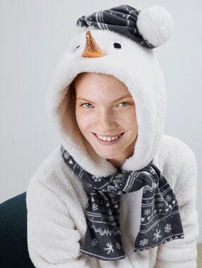 Schneemann pyjama onesie - nolwenn ecru.