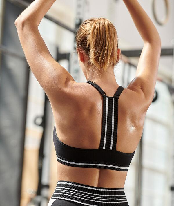 Sportbustier mit Ringerrücken – leichter Halt;${refinementColor}