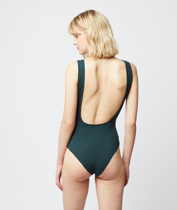 Gerippter Body mit tief ausgeschnittenem Rücken;${refinementColor}