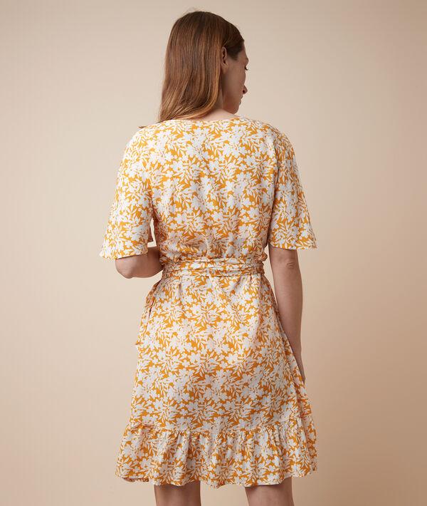 Nachtkleid mit floralem Print;${refinementColor}
