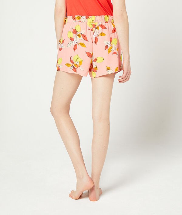 Shorts mit Blätter-Print;${refinementColor}