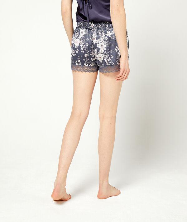 Shorts mit floralem Print;${refinementColor}