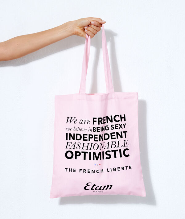 "Tote Bag ""Oui à l'optimisme"";${refinementColor}"