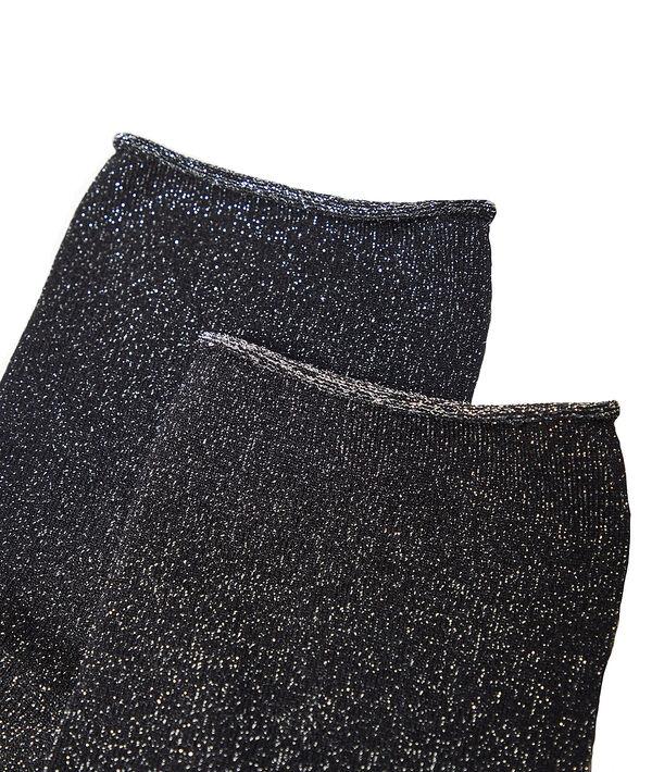 Socken aus metallisierten Fasern