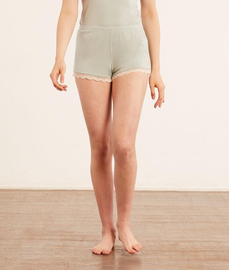 Shorts mit Details aus Spitze;${refinementColor}