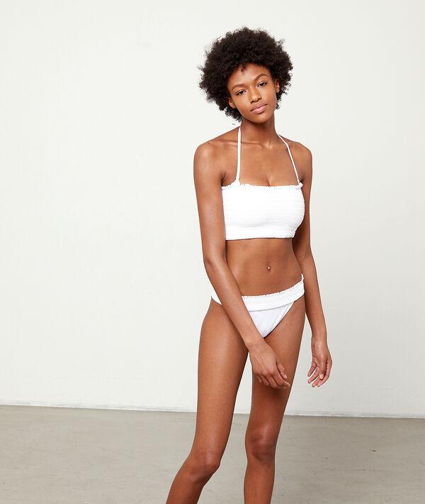 Einfaches Bikiniunterteil, Stickdetails;${refinementColor}