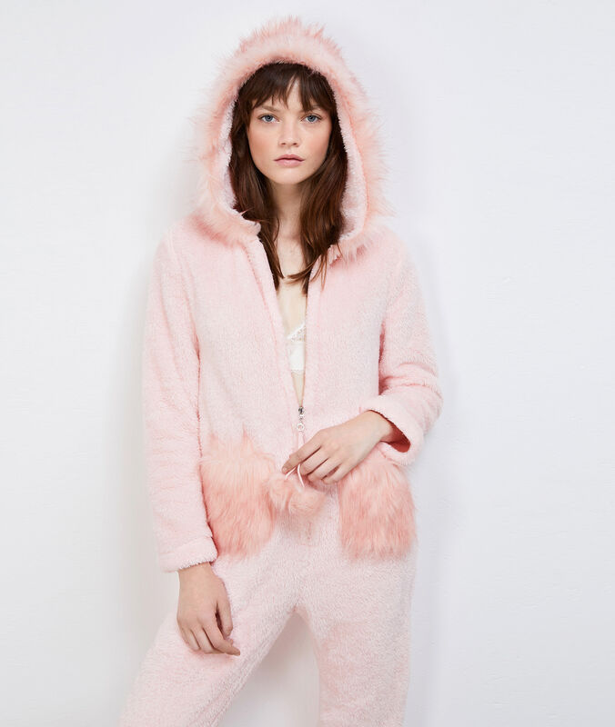 Strauss pyjama onesie - fripon rose.