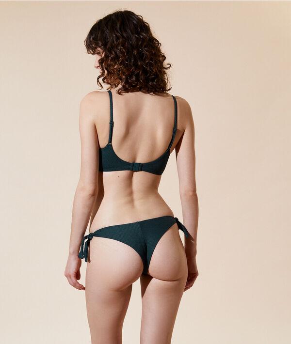 Bikinioberteil in Bustier-Form, herausnehmbare Pads;${refinementColor}