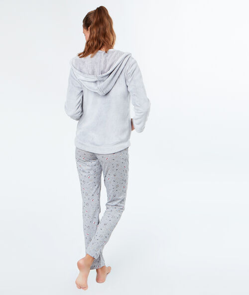 PYJAMA SET 3 TEILIG PINGUIN