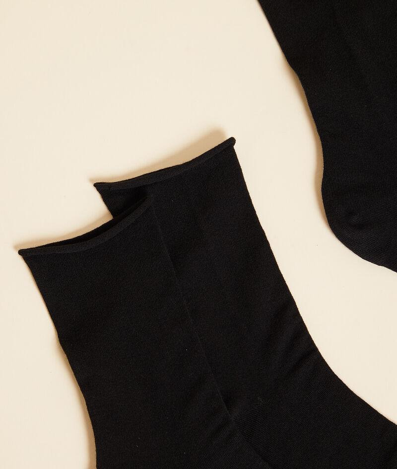 2 Paar Socken aus Bio-Baumwolle;${refinementColor}