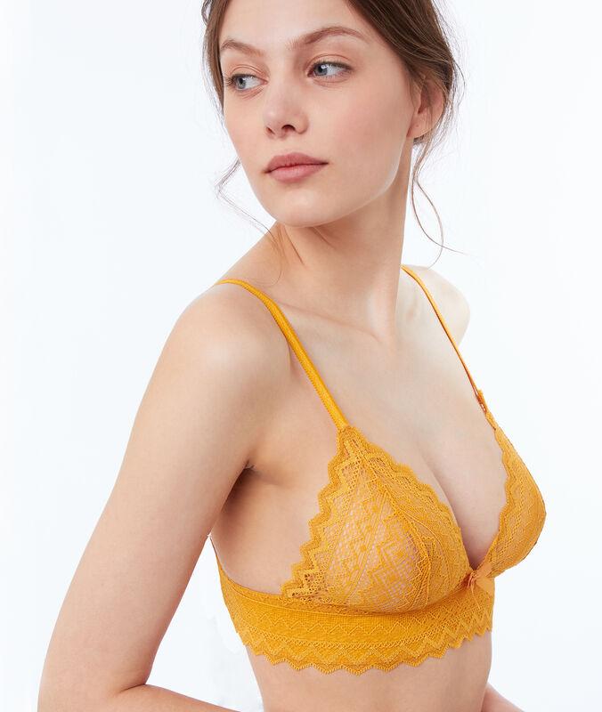 Dreiecksform in spitze butterblume.