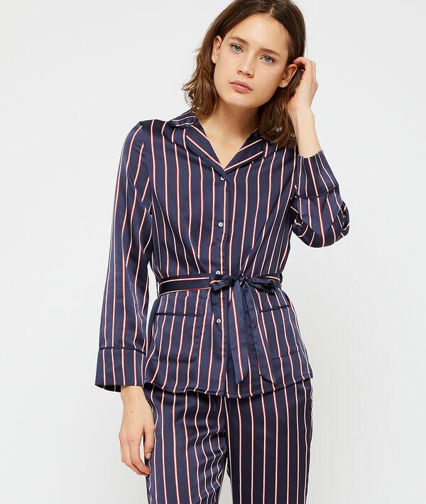 Chemise de pyjama à nouer