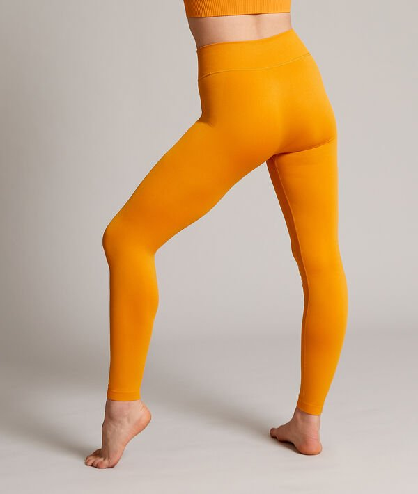 Lange nahtlose Yoga-Leggings;${refinementColor}
