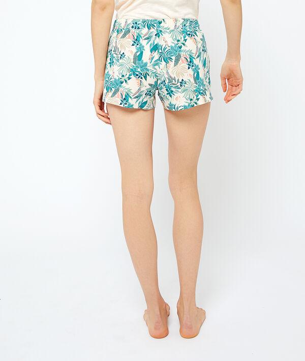 Pyjama-Shorts aus Bio-Baumwolle mit Bändchen;${refinementColor}