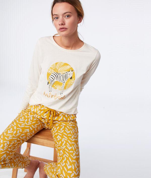 """Langärmliges T-Shirt """"intrépide"""";${refinementColor}"""