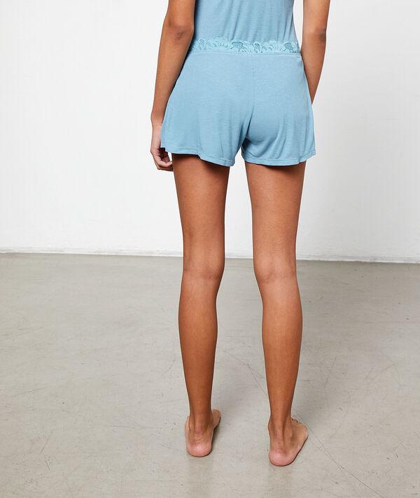 Leicht fließende Shorts;${refinementColor}