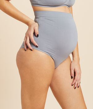 Nahtloses Panty mit hoher Taille;${refinementColor}