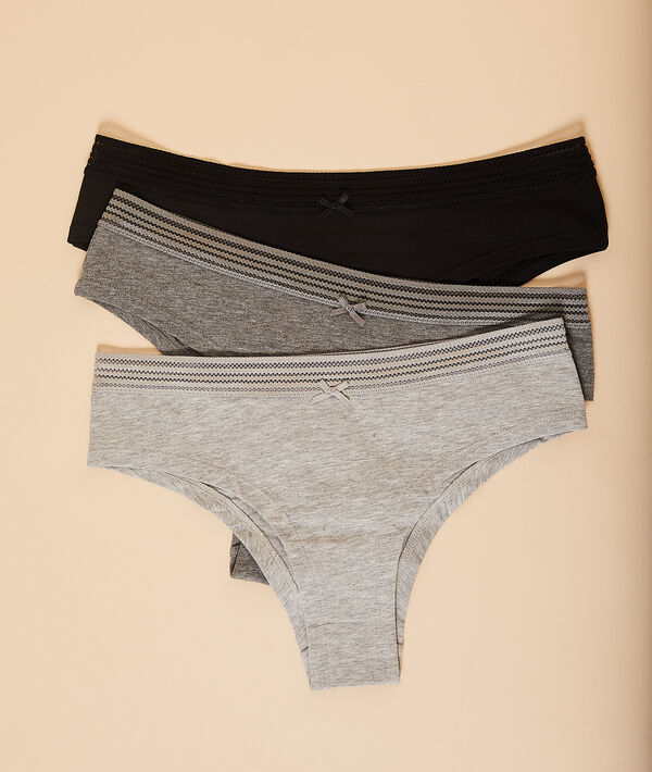 3er-Set Shorts;${refinementColor}