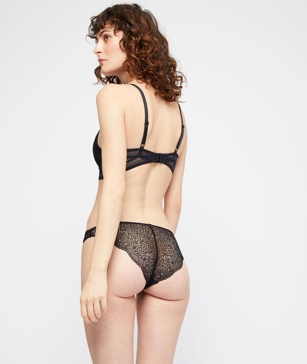 Bikini-Panty aus Spitze;${refinementColor}