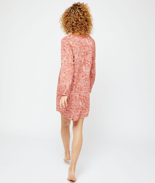 Nachthemd aus EcoVero-Viscose mit Print;${refinementColor}