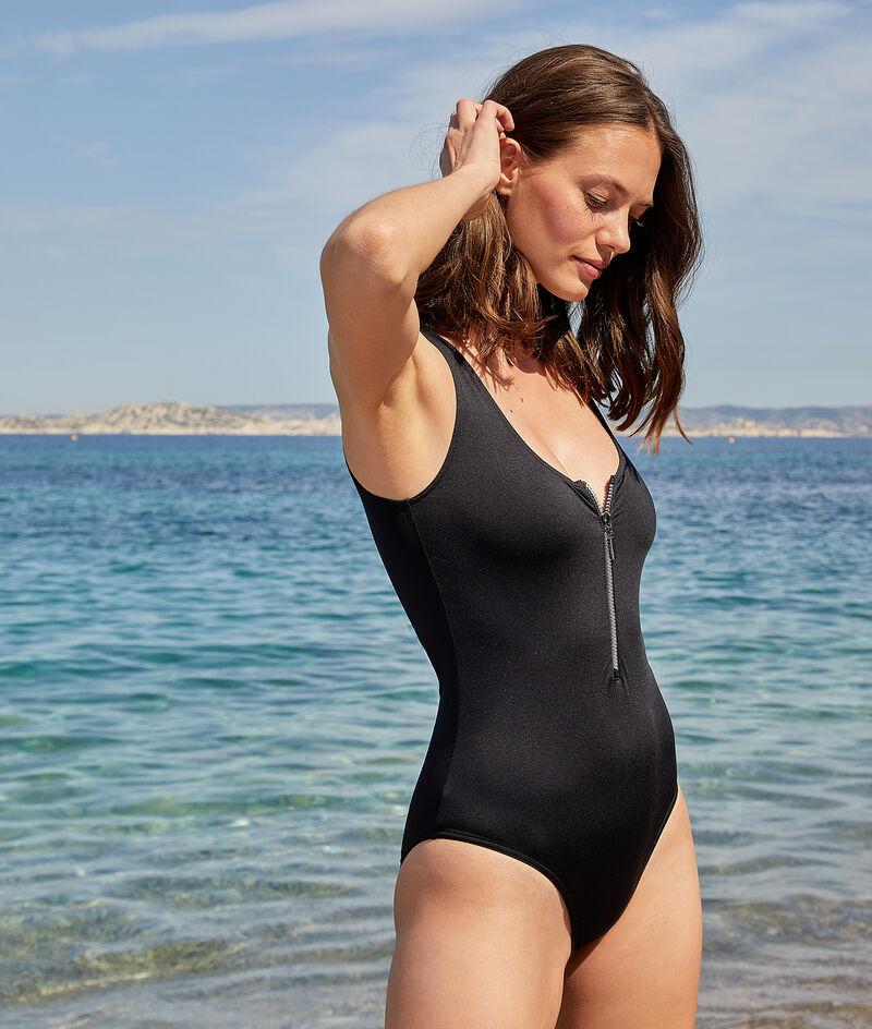 1-teiliger Surfanzug mit Reißverschluss;${refinementColor}