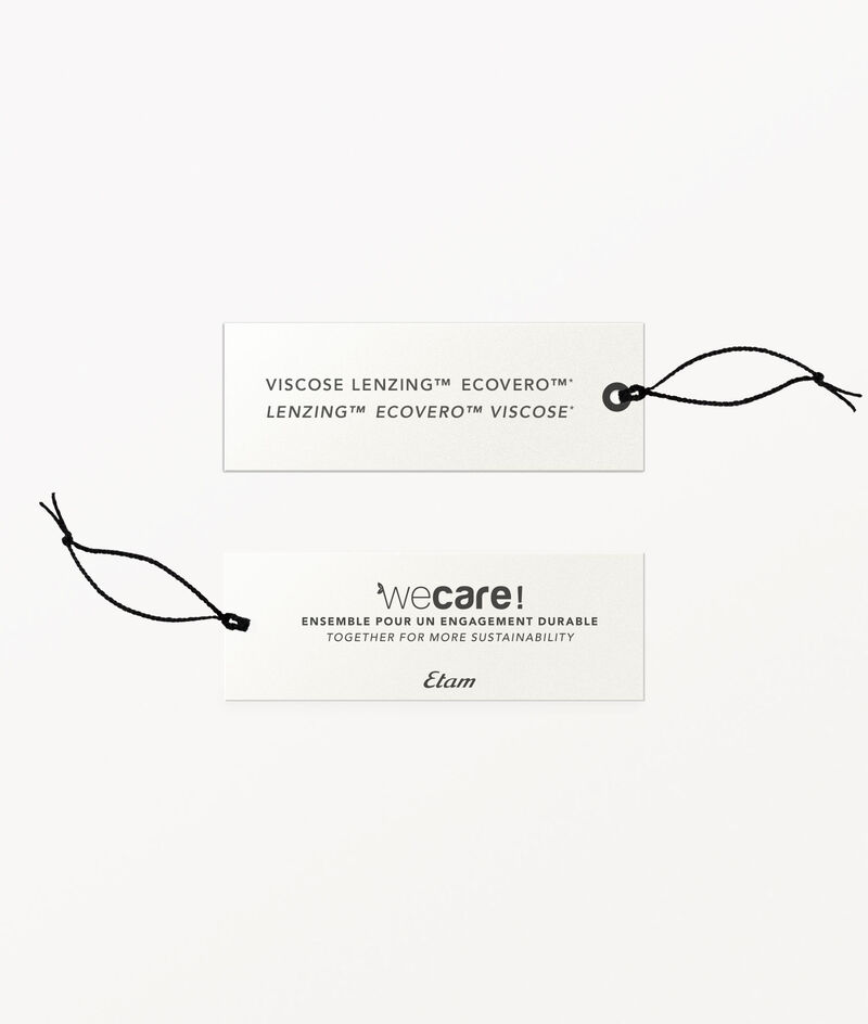 Capri-Hose mit Print zum Binden;${refinementColor}