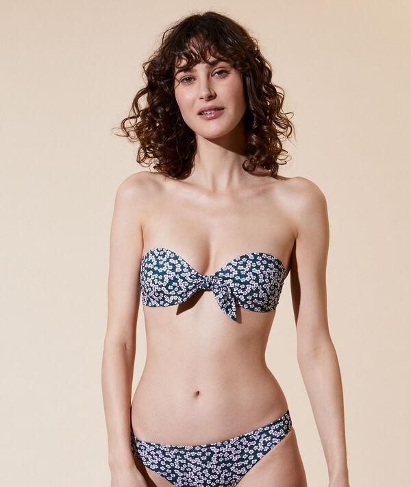 Bikinioberteil in Bandeau-Form, leichte Schalen;${refinementColor}