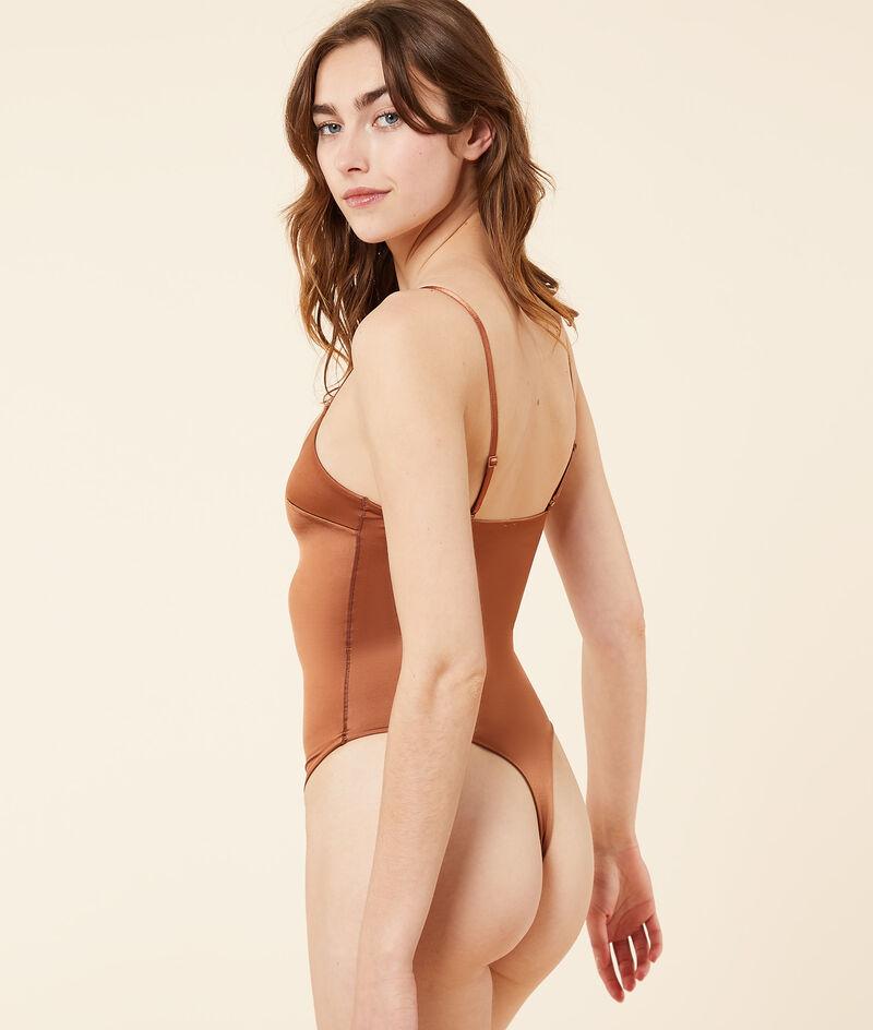 Bodysuit mit dünnen Trägern;${refinementColor}