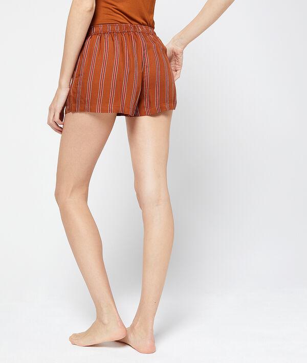 Gestreifte Shorts;${refinementColor}