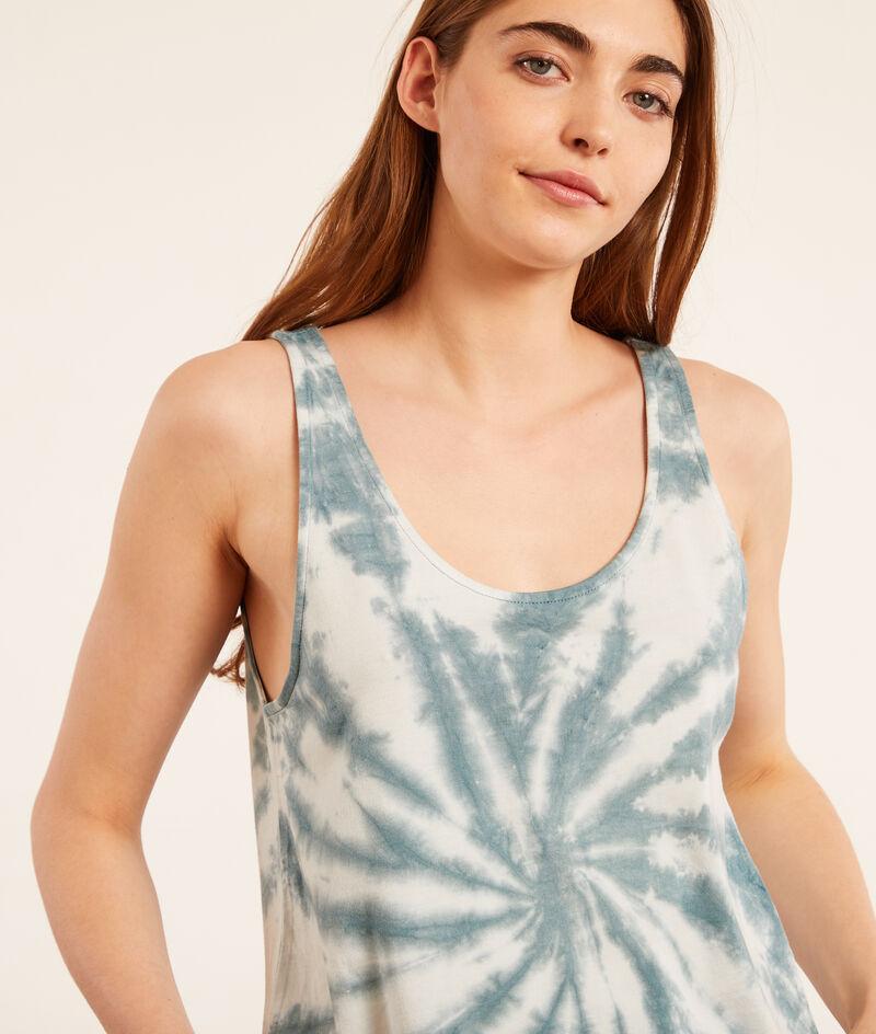 Pyjamaoberteil im Batik-Style;${refinementColor}