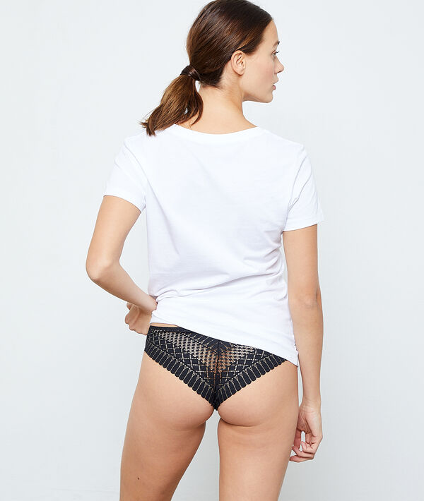 T-Shirt 'feel free' aus Baumwolle;${refinementColor}