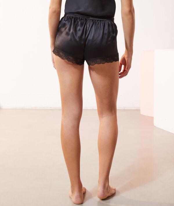 Shorts aus Seide;${refinementColor}