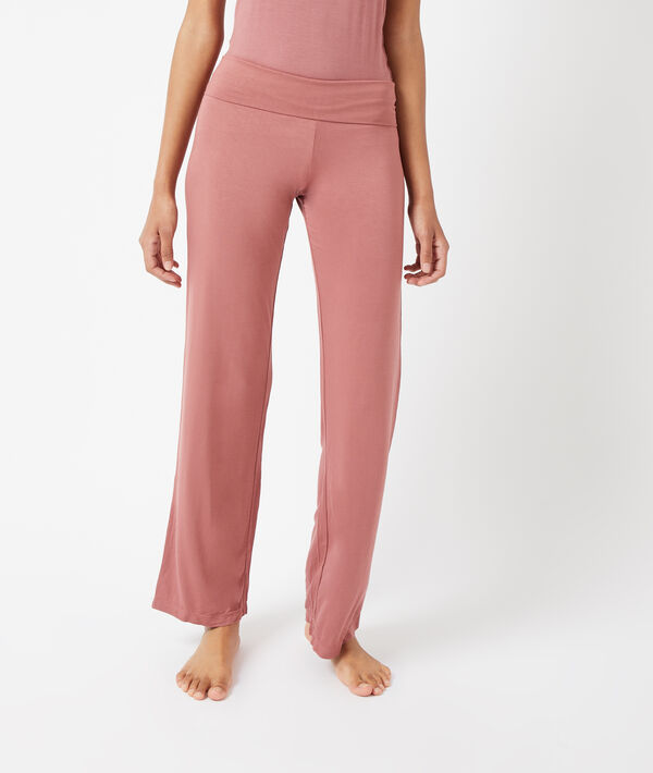 Hose mit hoher Taille;${refinementColor}