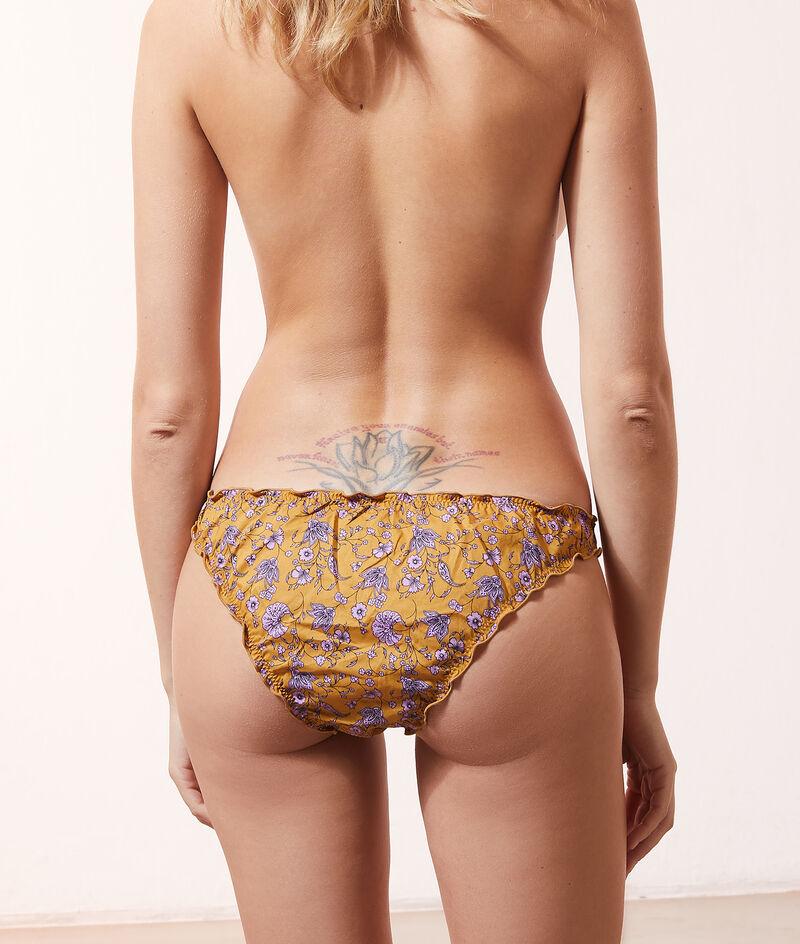 Bloomer-Panty mit Print;${refinementColor}