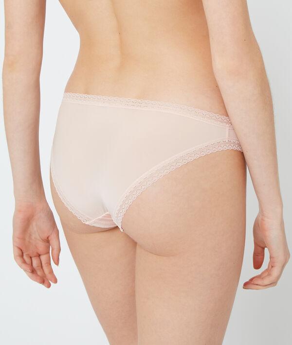 Panty aus Materialmix;${refinementColor}