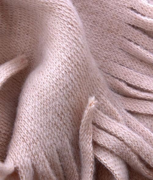 Écharpe à franges