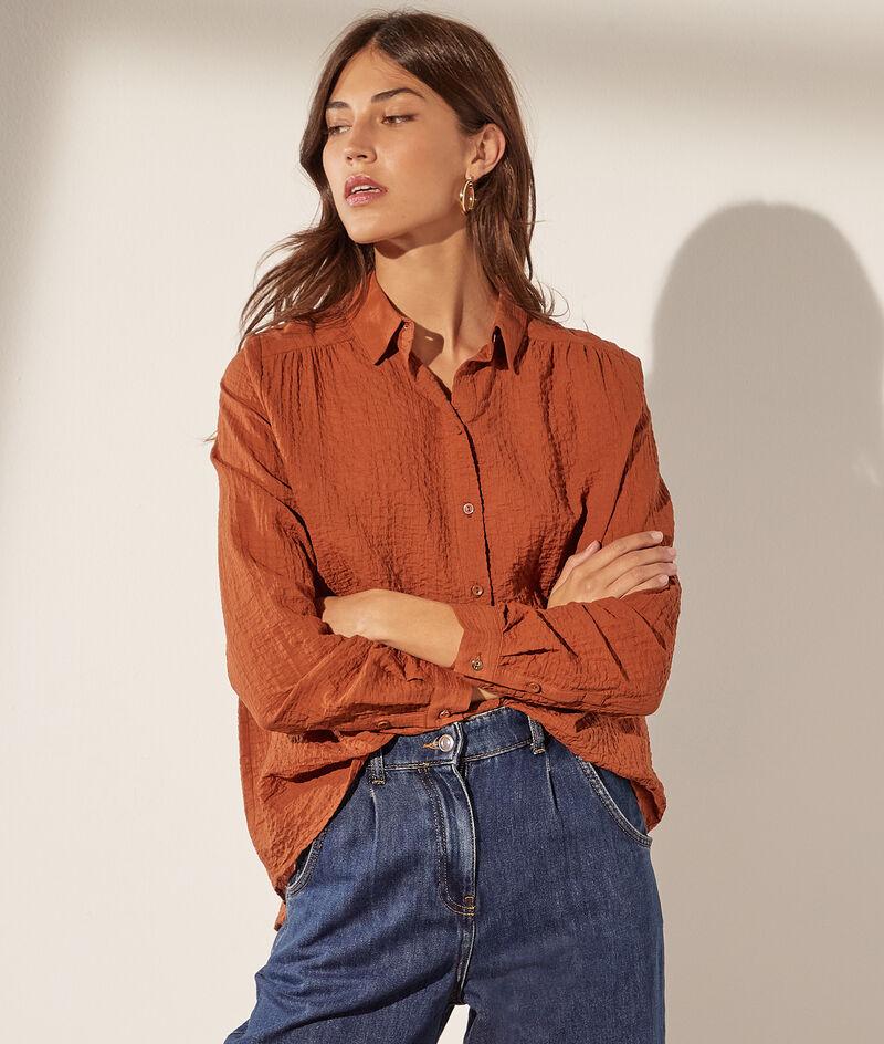 Bluse aus Baumwollgaze
