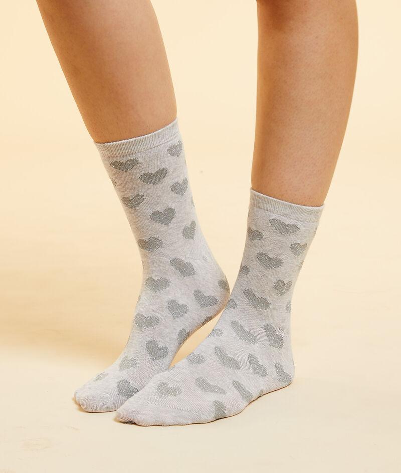 Socken mit Herzen