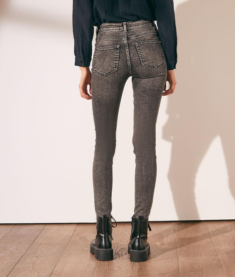 Verwaschene Slim-Jeans