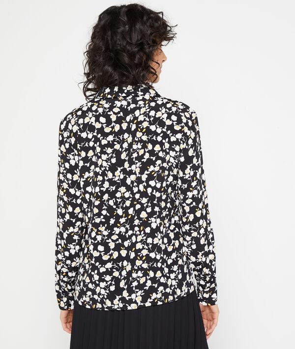 Hemd mit floralem Print