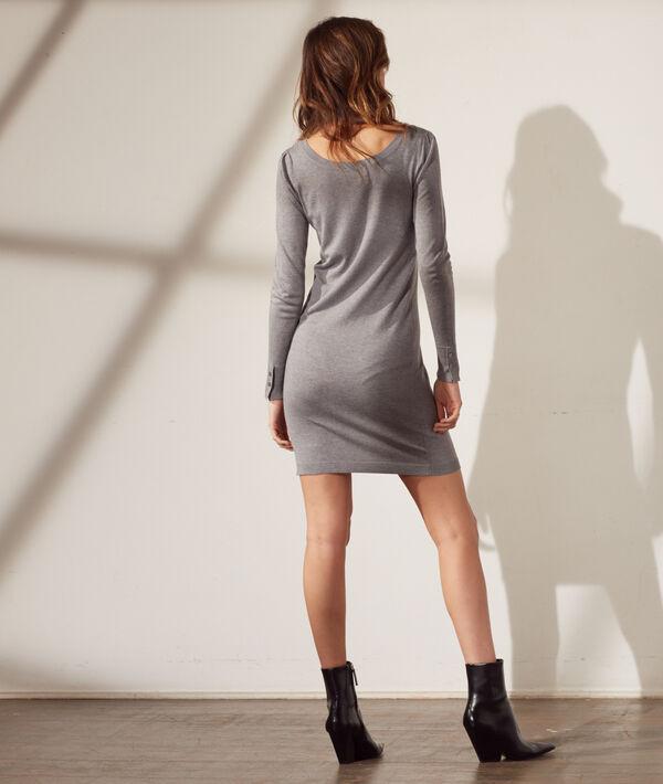 Pulloverkleid aus feinem Strick
