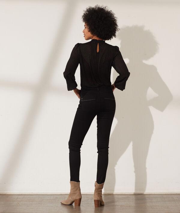 Slim-Jeans mit Push-up-Effekt