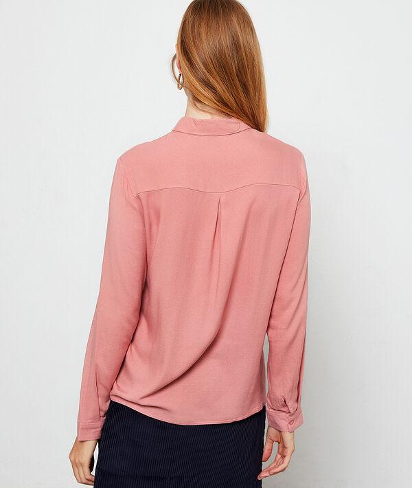 Einfarbiges Hemd
