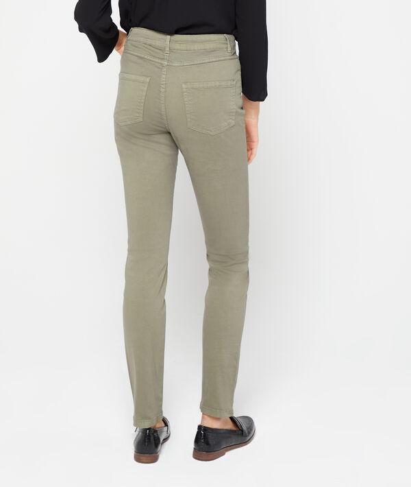 Schmale Hose aus Baumwolle