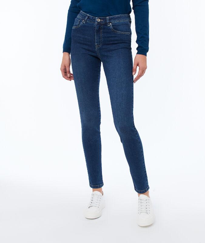 Skinny jeans brut.