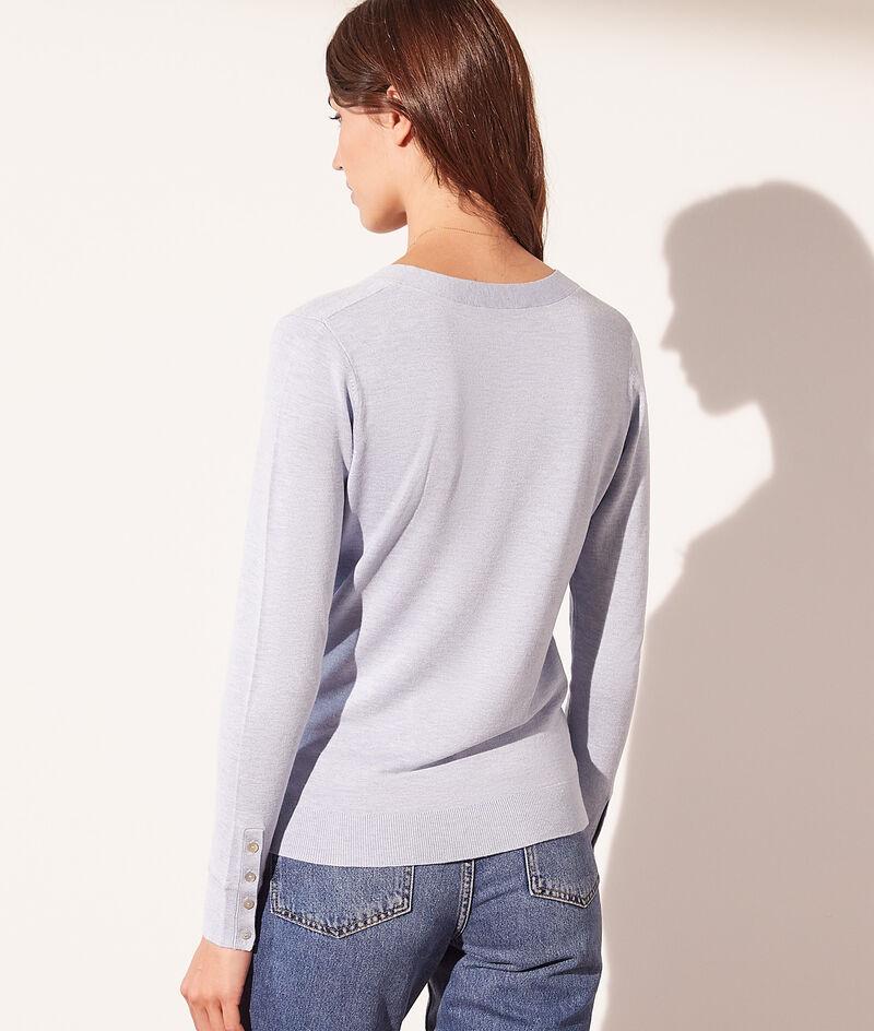 Pullover aus leichtem, umweltfreundlichem Material