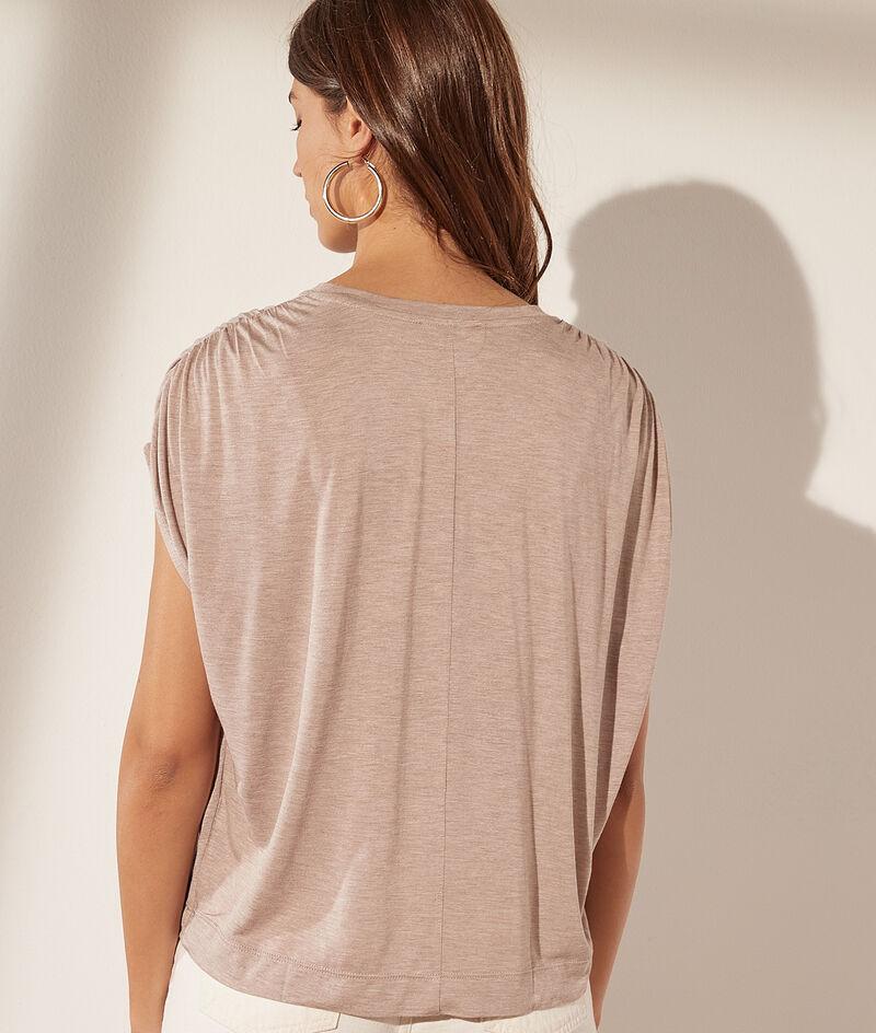 T-Shirt mit losen Ärmeln
